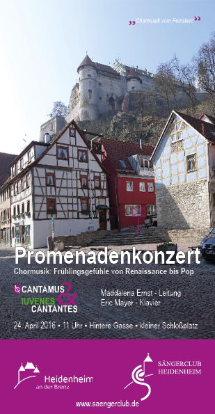 2016 Flyer Promenadenkonzert